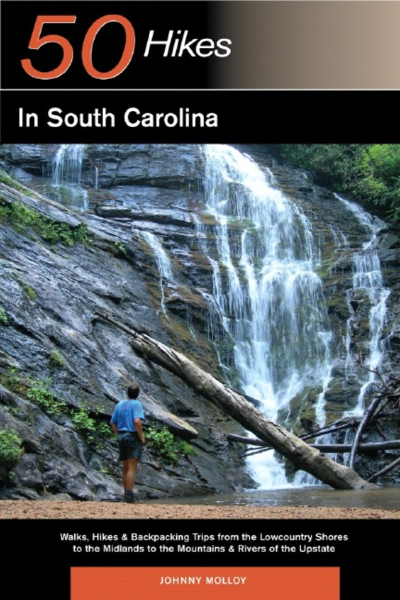 Book cover for Explorer's Guide 50 Hikes in South Carolina by Johnny Molloy