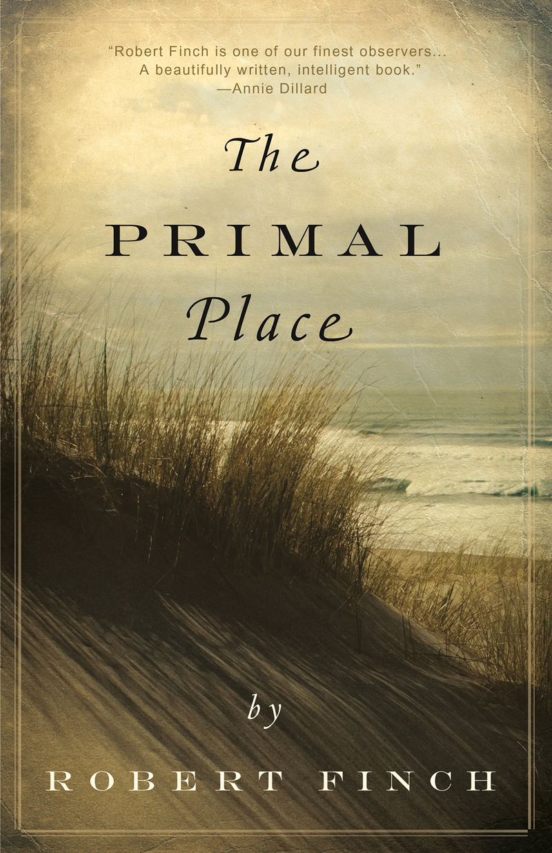 Book cover for The Primal Place by Robert Finch