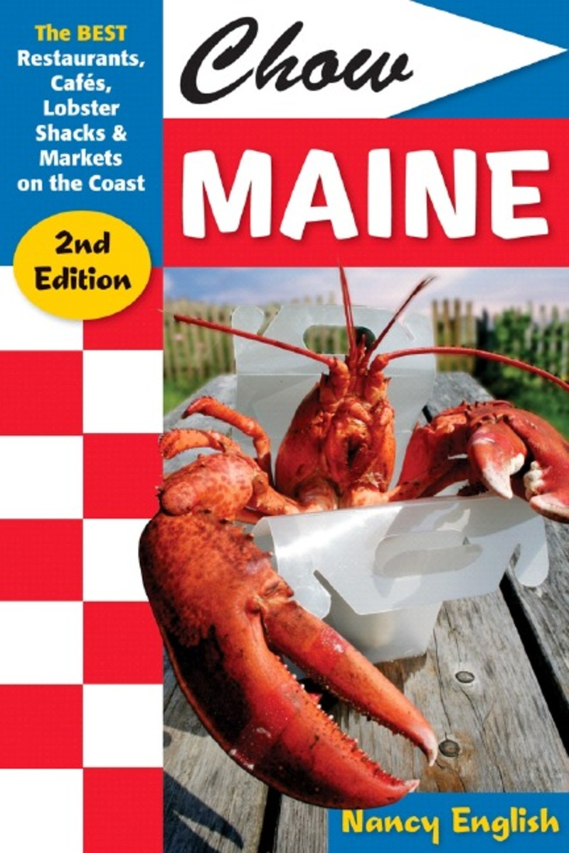 Book cover for Chow Maine by Nancy English