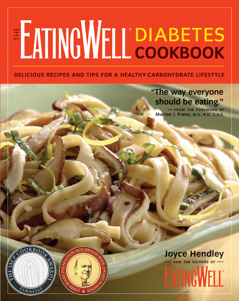 Book cover for The EatingWell Diabetes Cookbook by Joyce Hendley