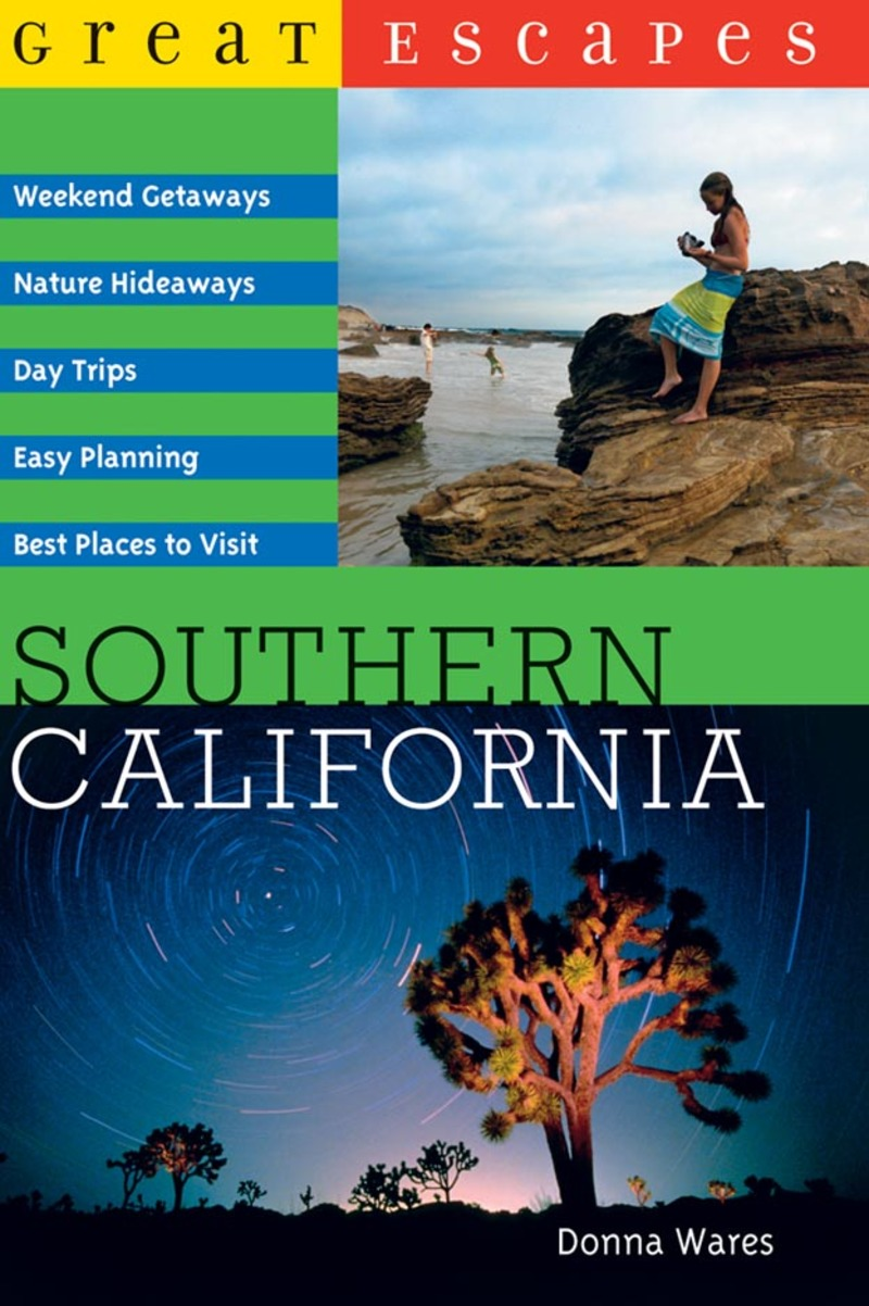 Book cover for Great Escapes: Southern California by Donna Wares