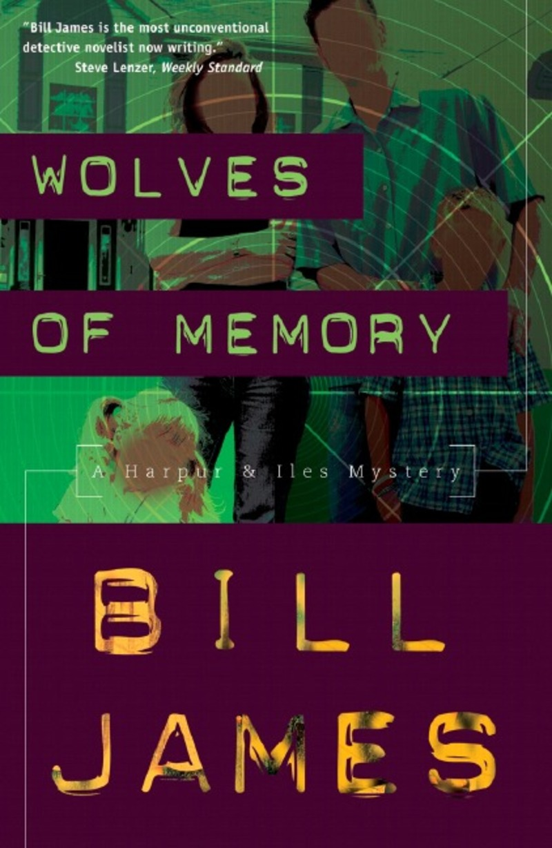 Book cover for Wolves of Memory by Bill James