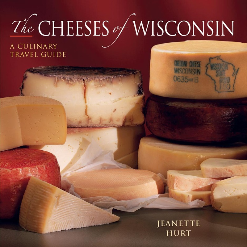 Book cover for The Cheeses of Wisconsin by Jeanette Hurt