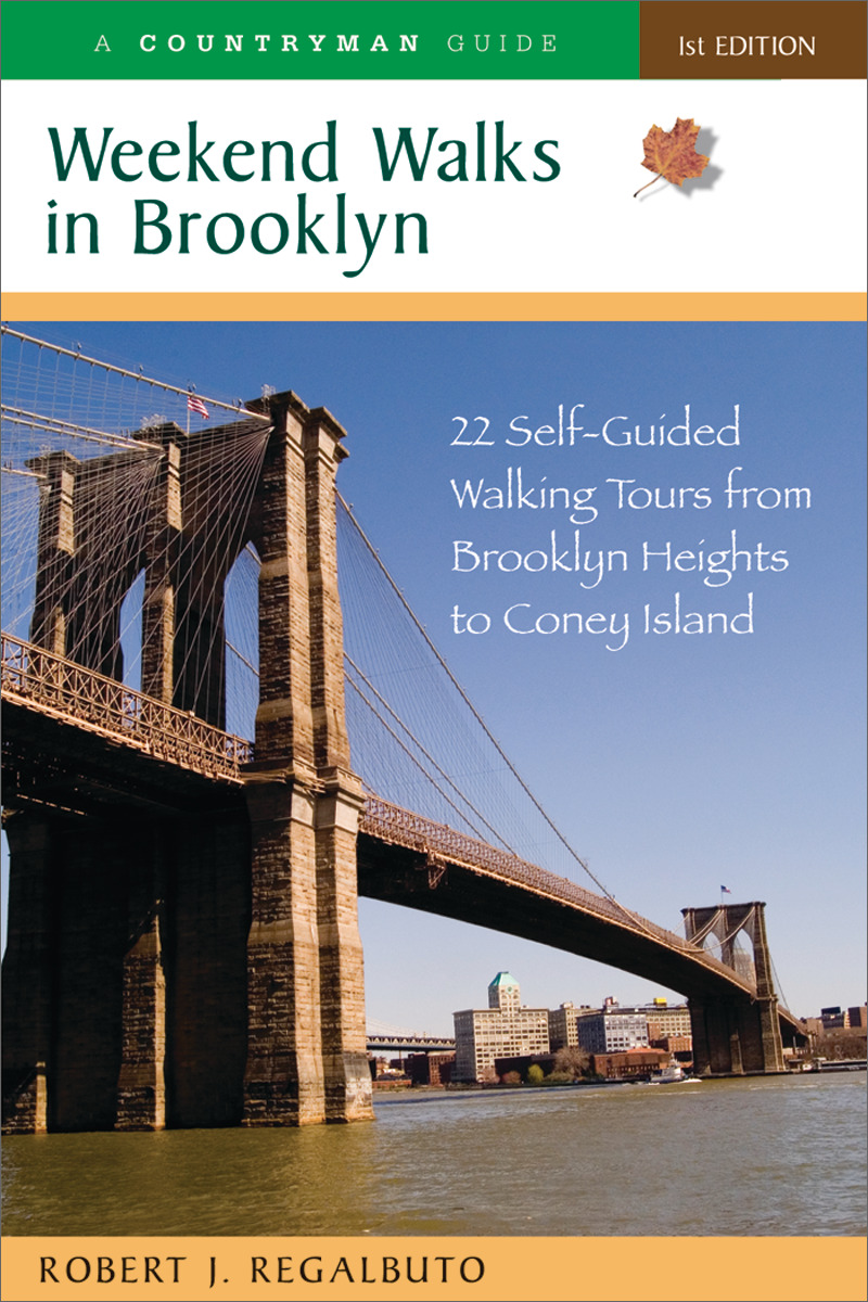 Book cover for Weekend Walks in Brooklyn by Robert J. Regalbuto