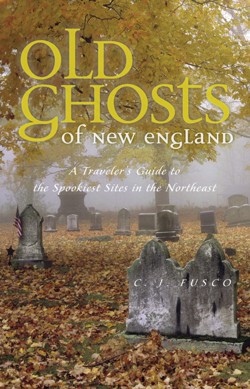 Book cover for Old Ghosts of New England by C. J. Fusco