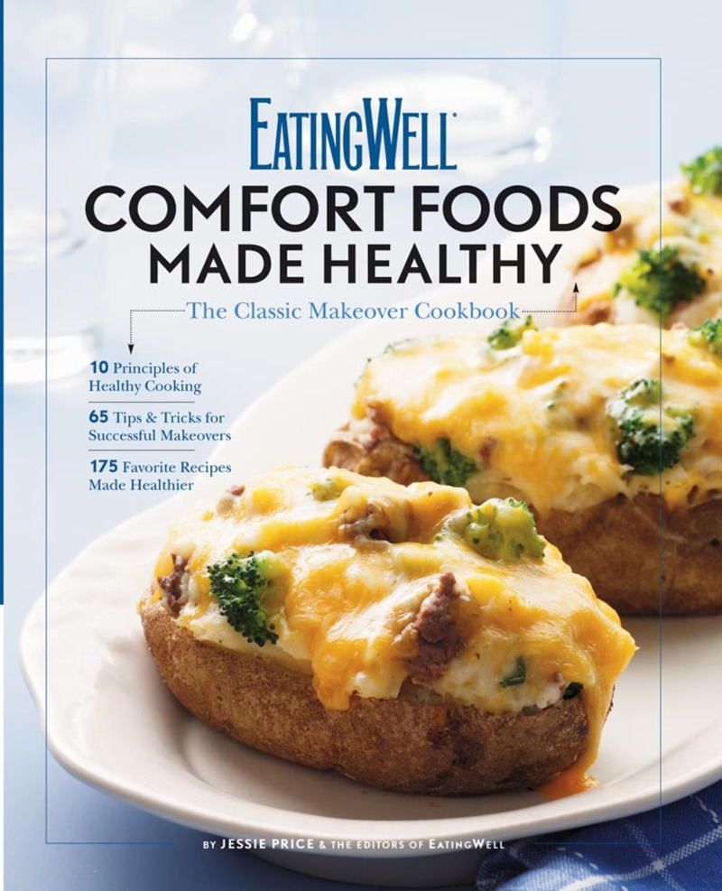 Book cover for EatingWell Comfort Foods Made Healthy by