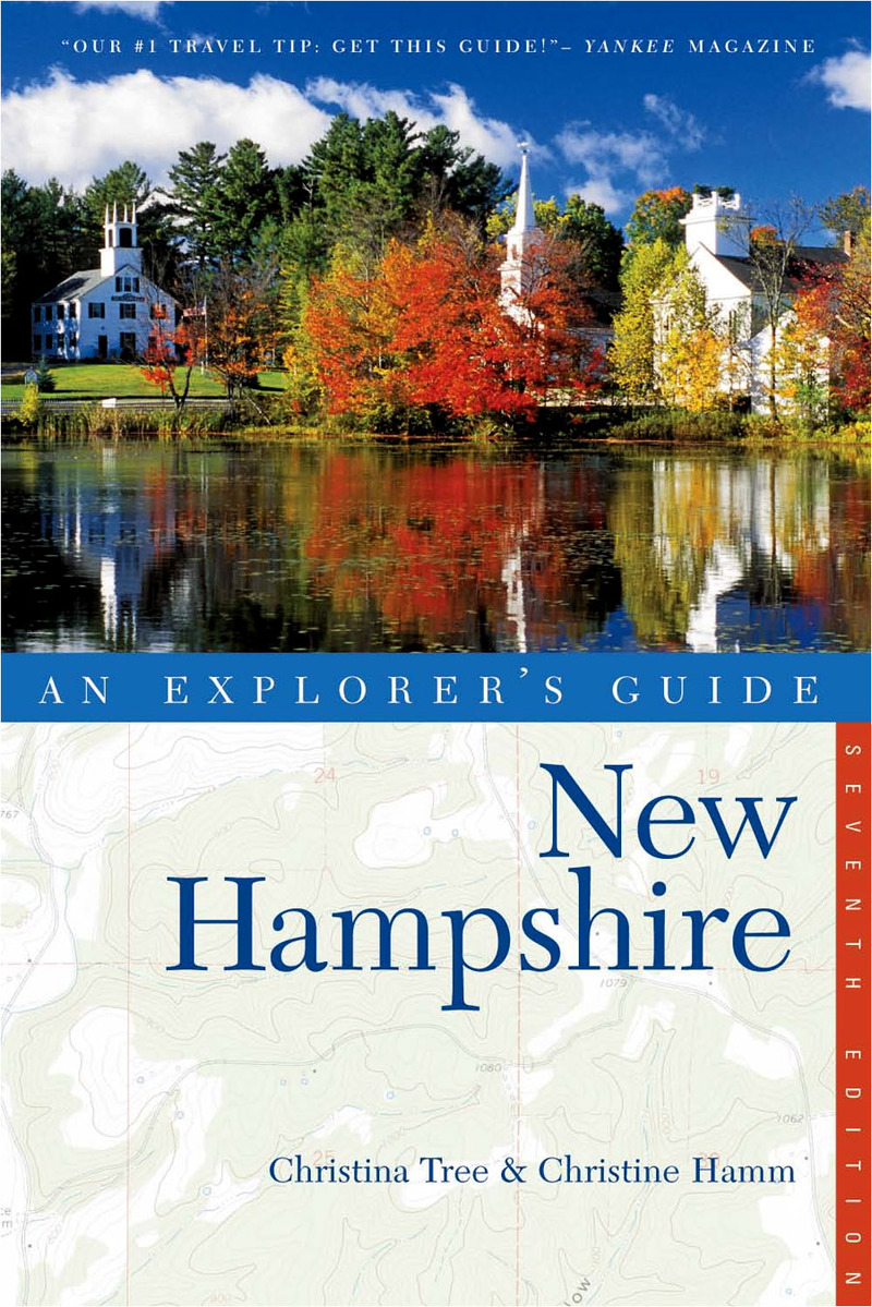 Book cover for Explorer's Guide New Hampshire by Christina Tree
