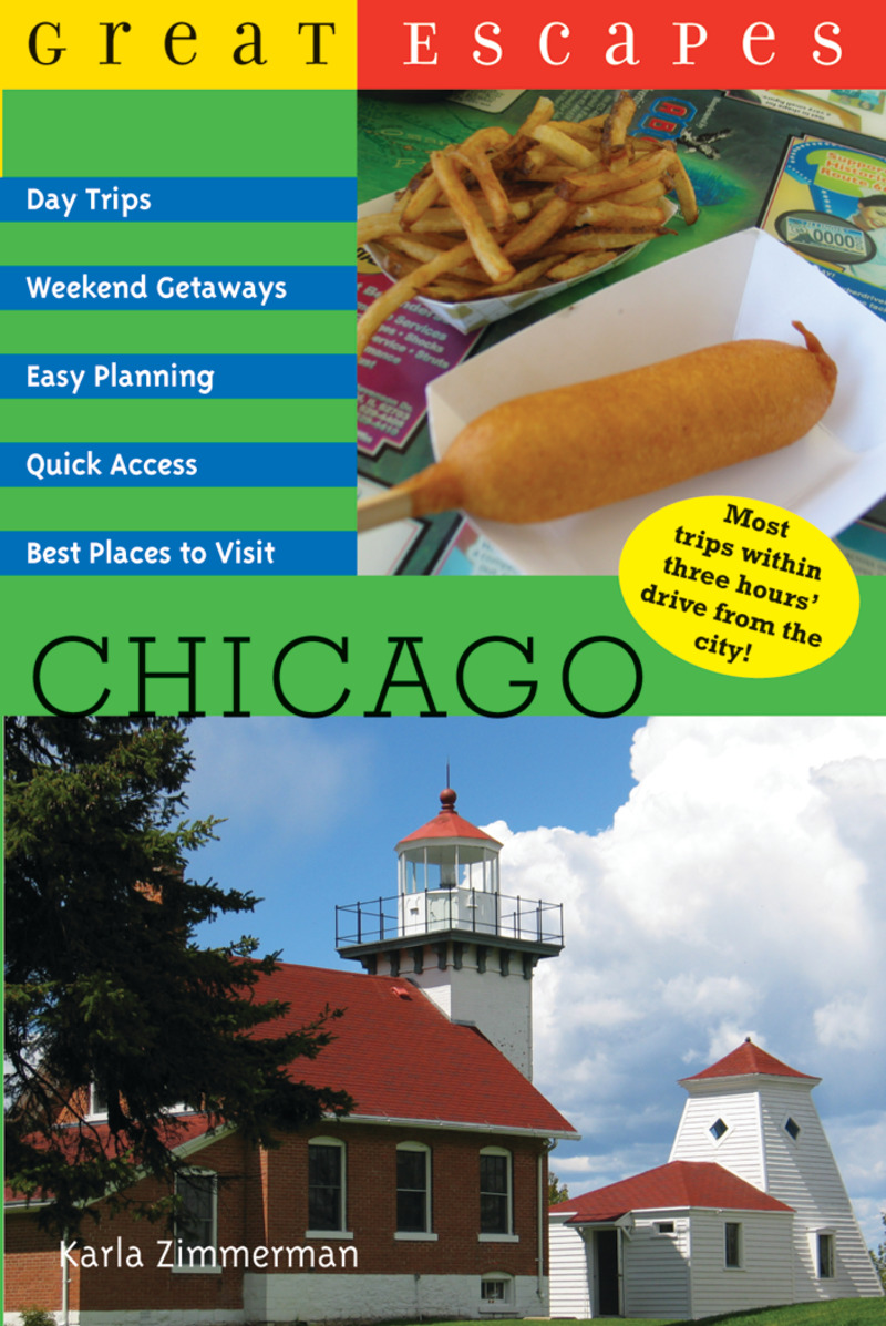 Book cover for Great Escapes: Chicago by Karla Zimmerman