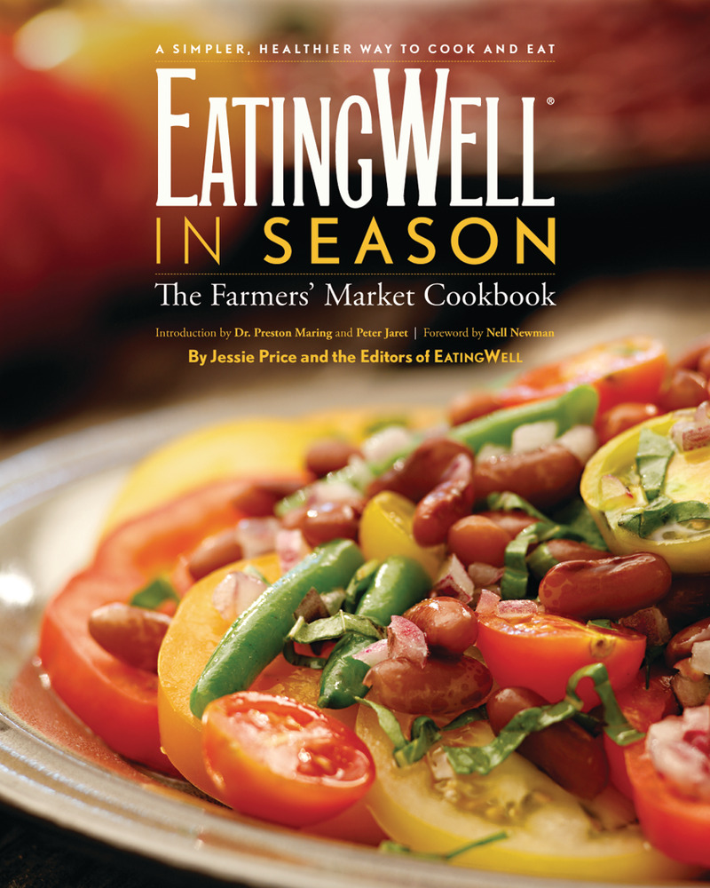 Book cover for EatingWell in Season by
