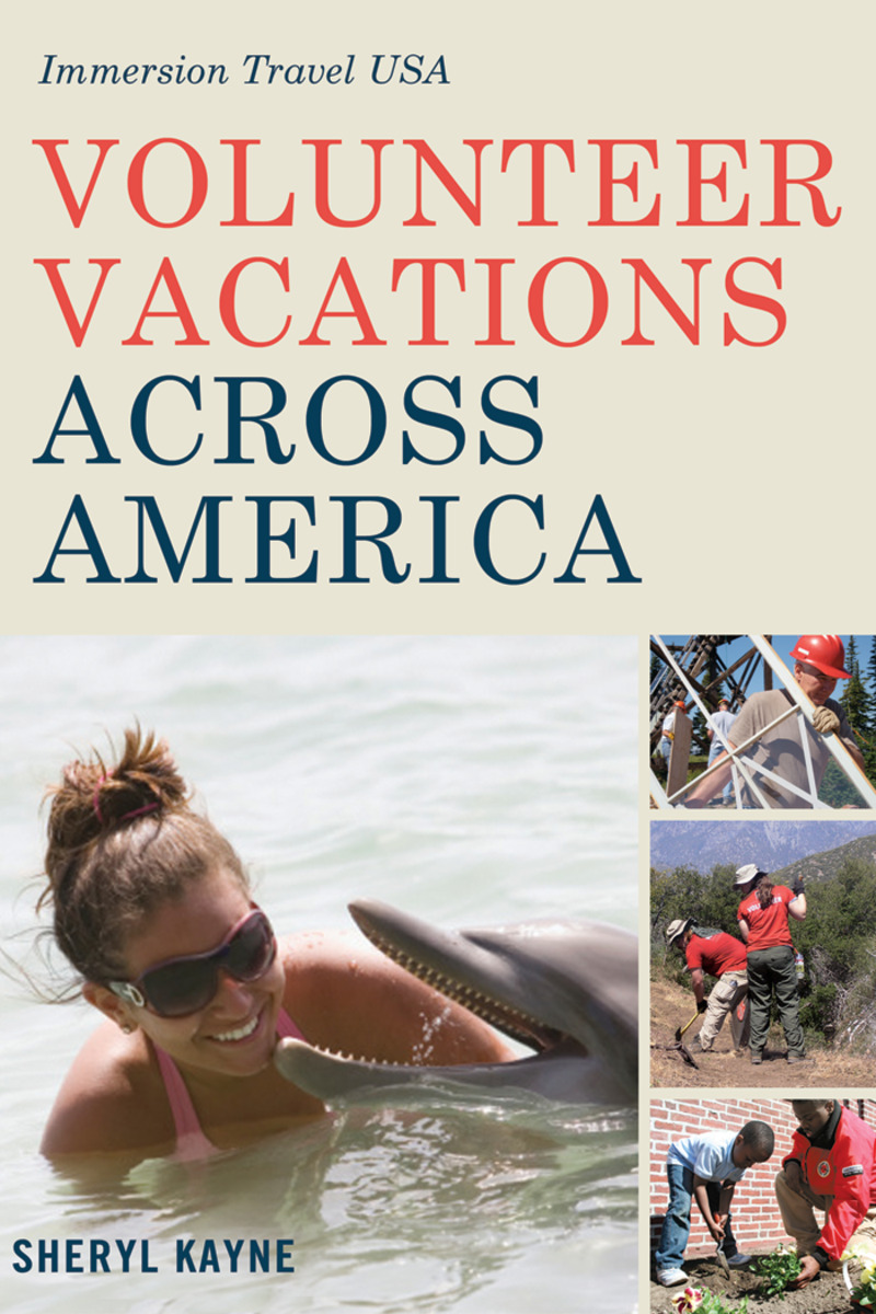 Book cover for Volunteer Vacations Across America by Sheryl Kayne