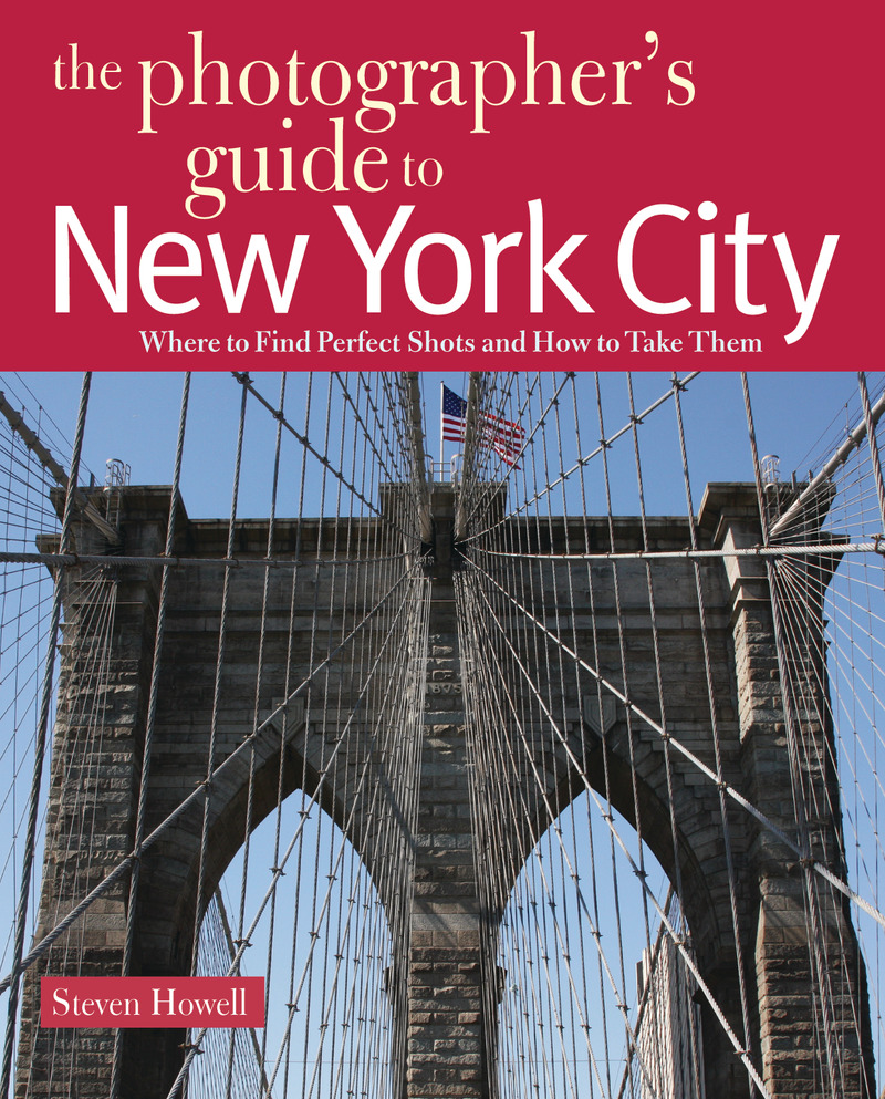 Book cover for The Photographer's Guide to New York City by Steven Howell