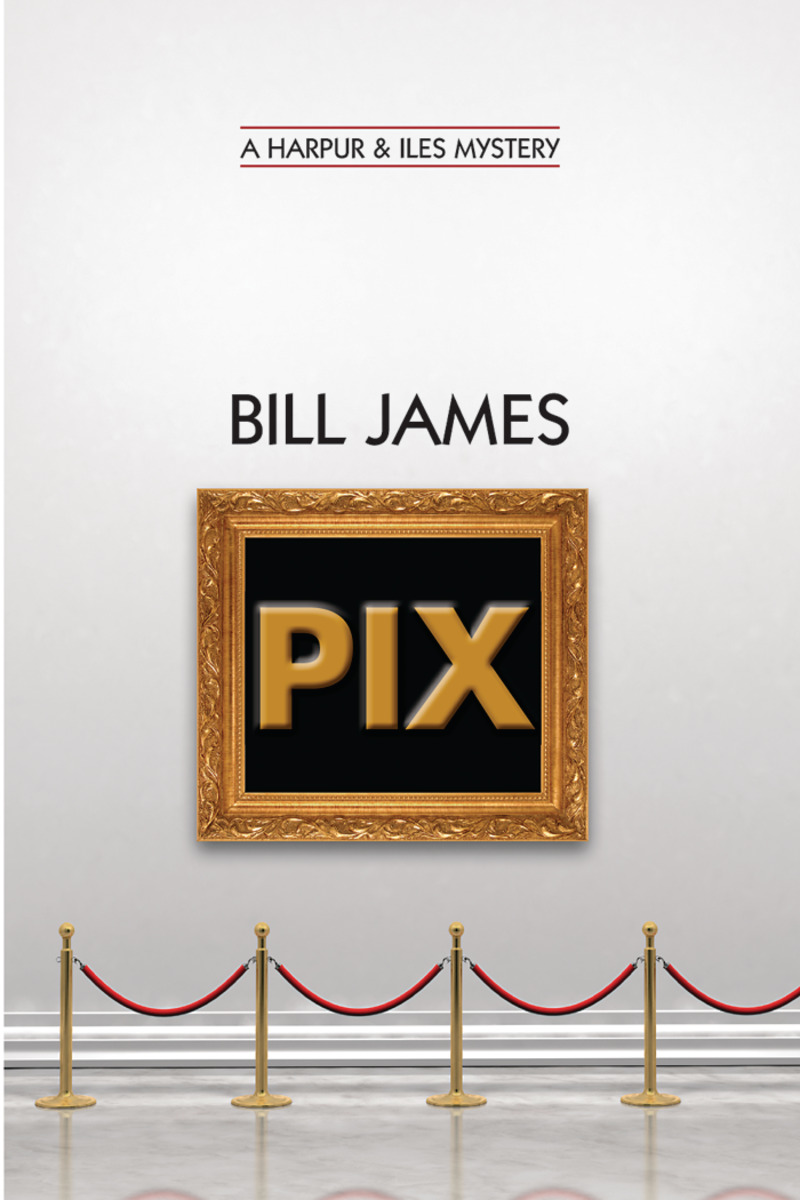 Book cover for Pix by Bill James
