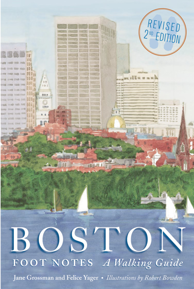 Book cover for Boston Foot Notes by Jane Grossman