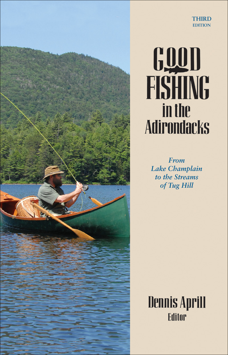 Book cover for Good Fishing in the Adirondacks by Dennis Aprill