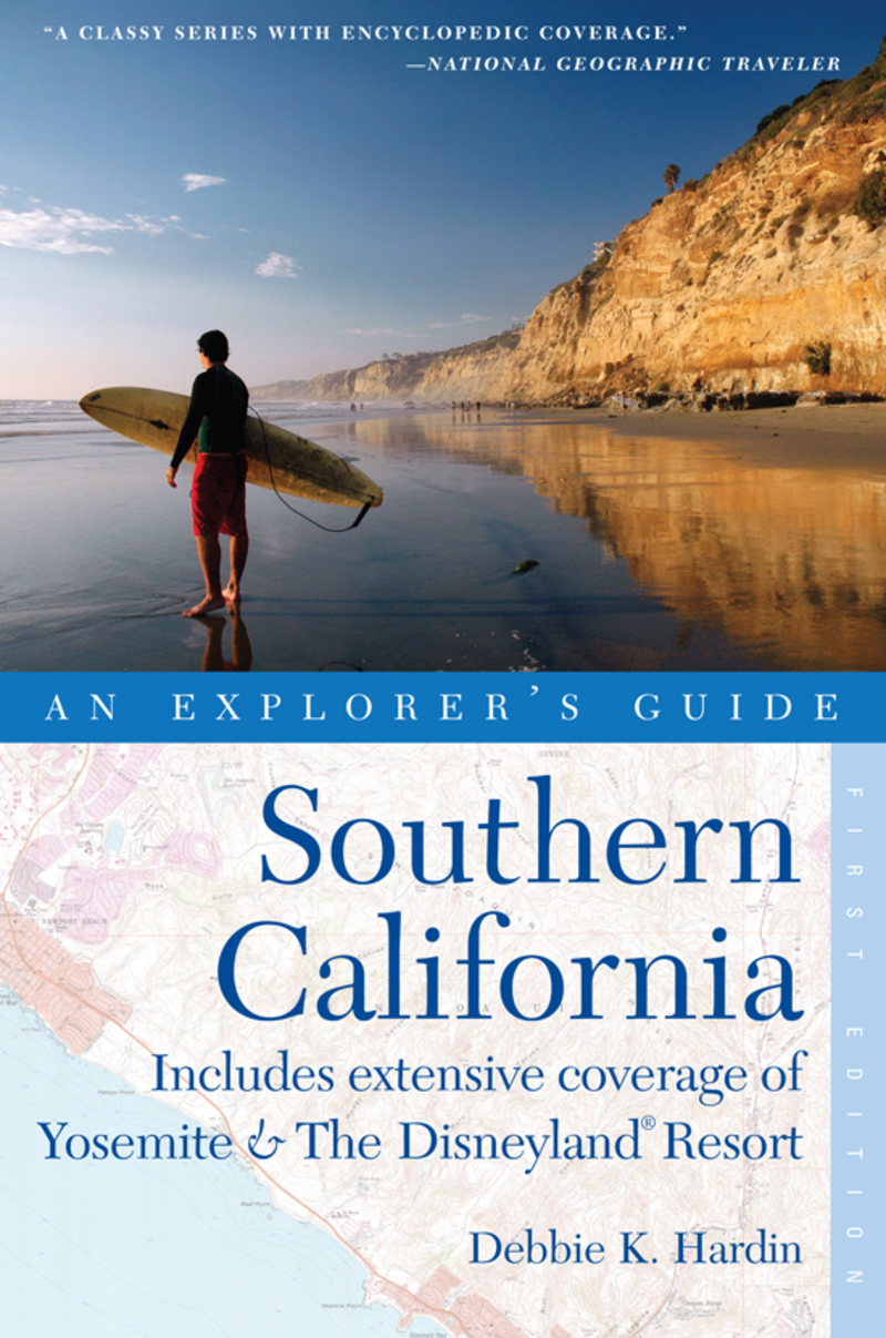 Book cover for Explorer's Guide Southern California by Debbie K. Hardin