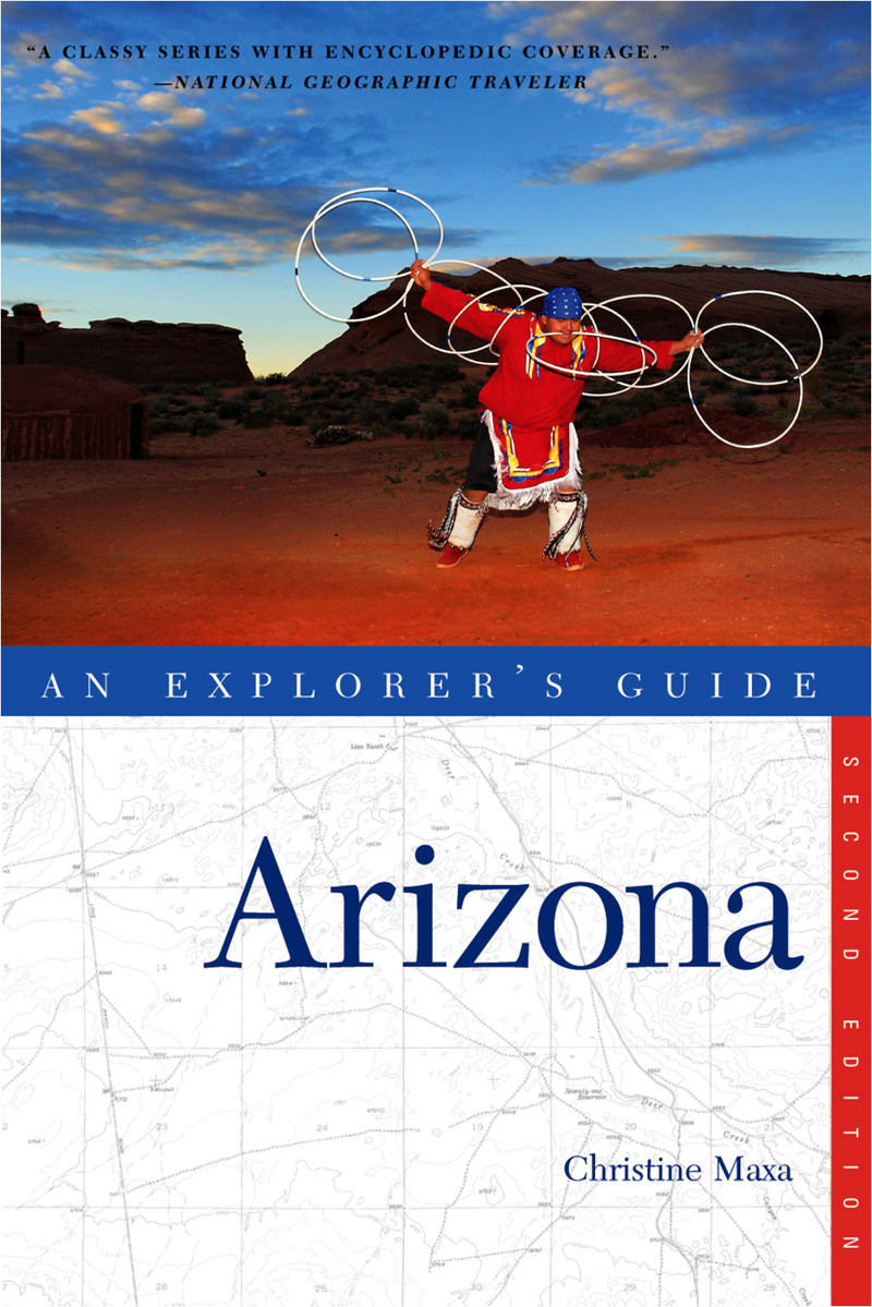 Book cover for Explorer's Guide Arizona by Christine Maxa