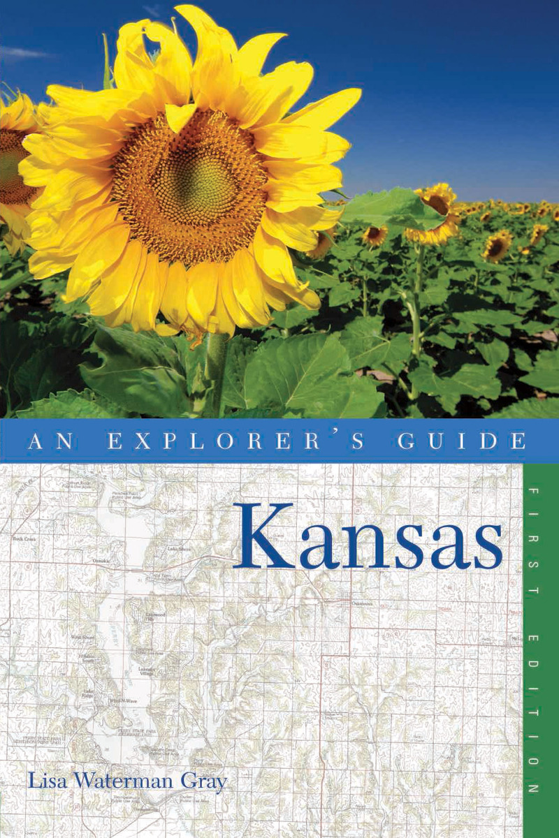 Book cover for Explorer's Guide Kansas by Lisa Waterman Gray