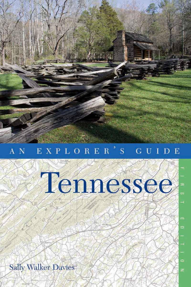 Book cover for Explorer's Guide Tennessee by Sally Walker Davies
