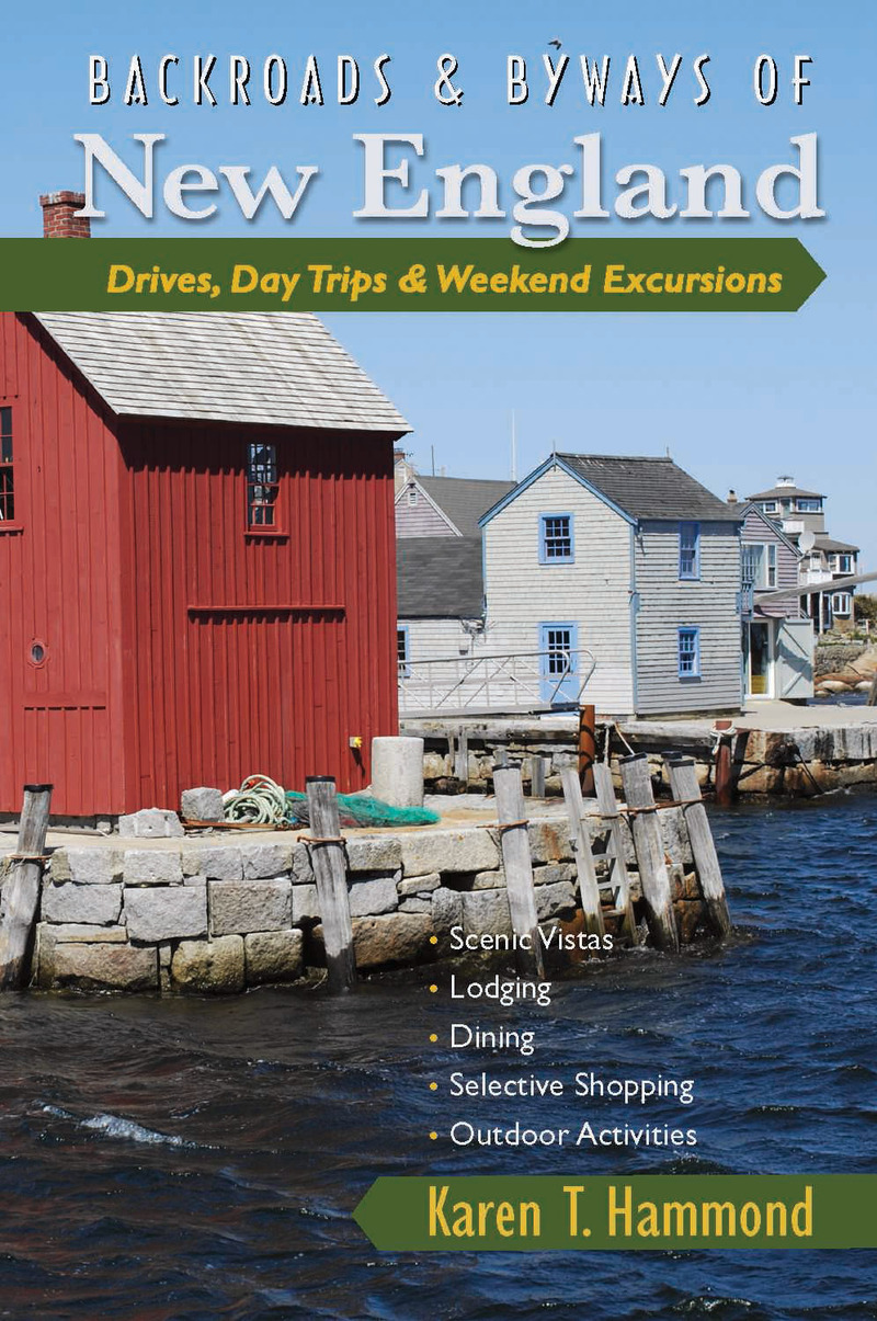 Book cover for Backroads & Byways of New England by Karen T. Hammond
