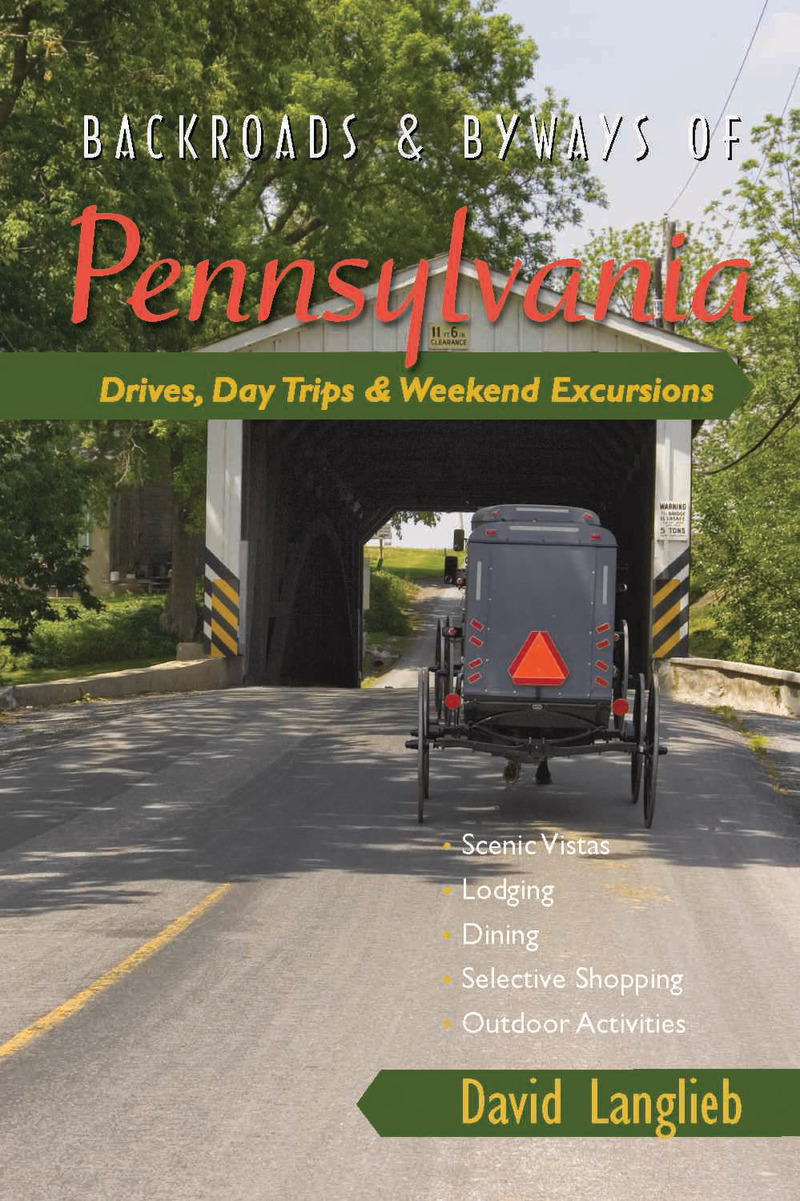 Book cover for Backroads & Byways of Pennsylvania by David Langlieb