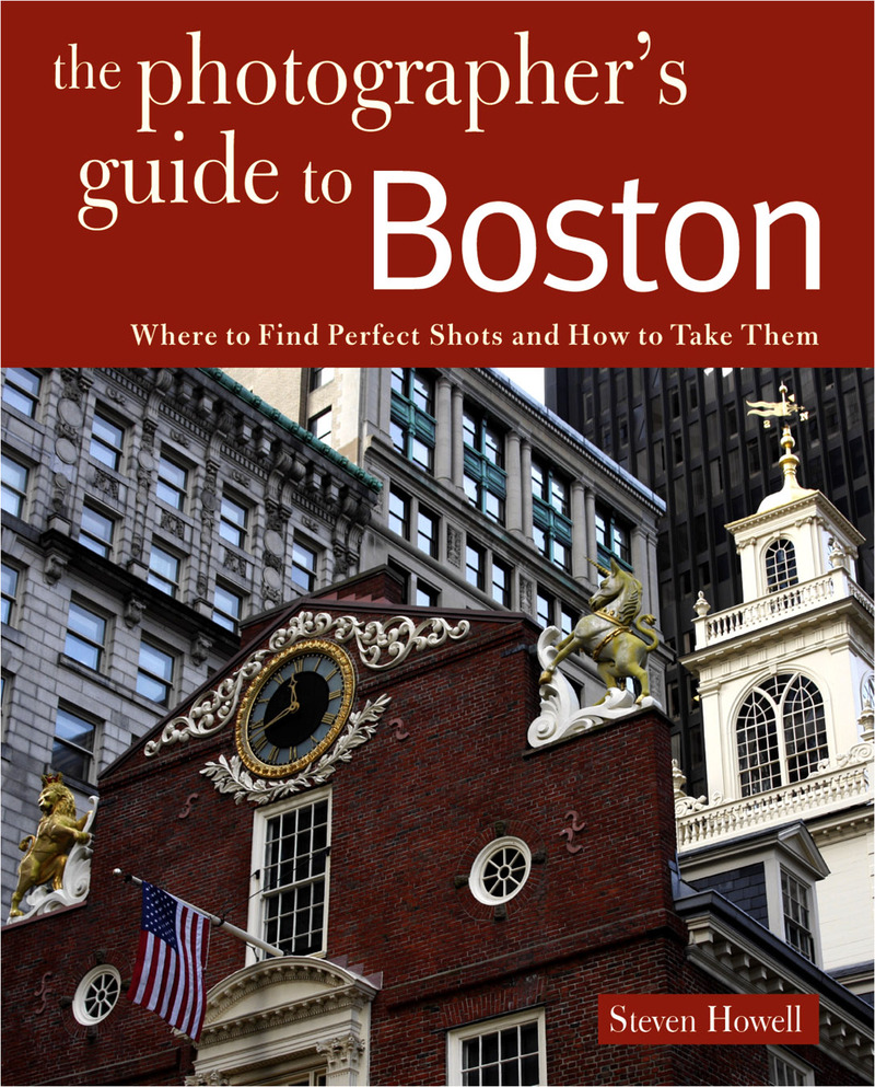 Book cover for Photographing Boston by Steven Howell