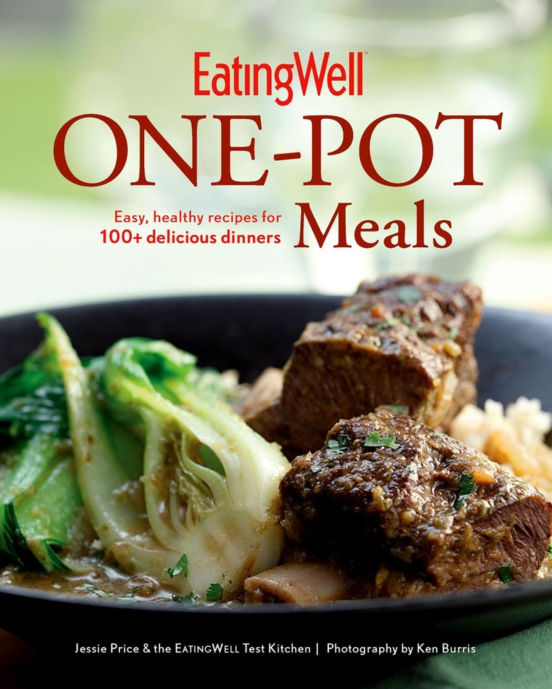 Book cover for EatingWell One-Pot Meals by Jessie Price