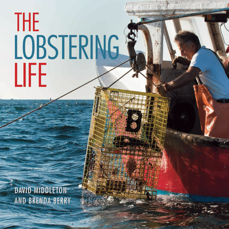 Book cover for The Lobstering Life by David Middleton