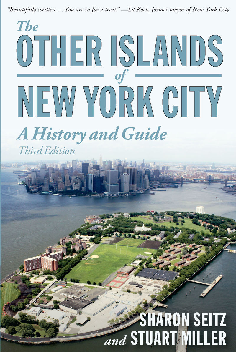 Book cover for The Other Islands of New York City by Sharon Seitz