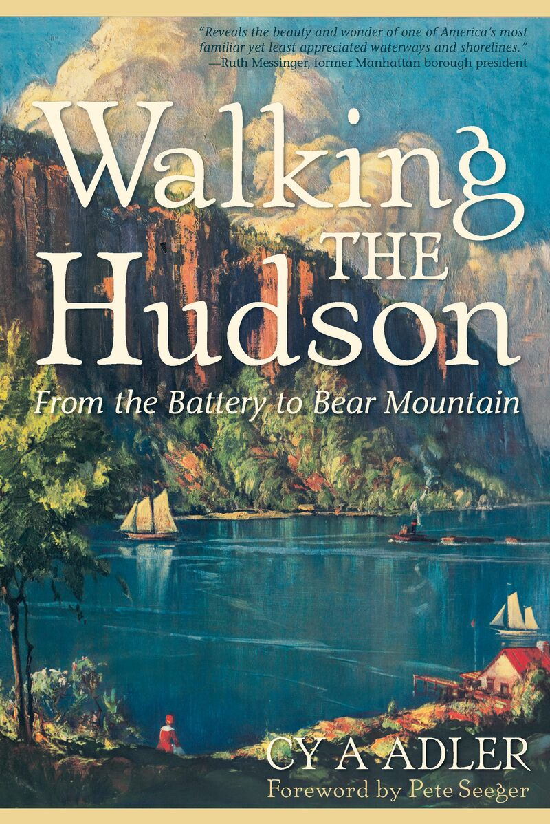 Book cover for Walking The Hudson by Cy A Adler