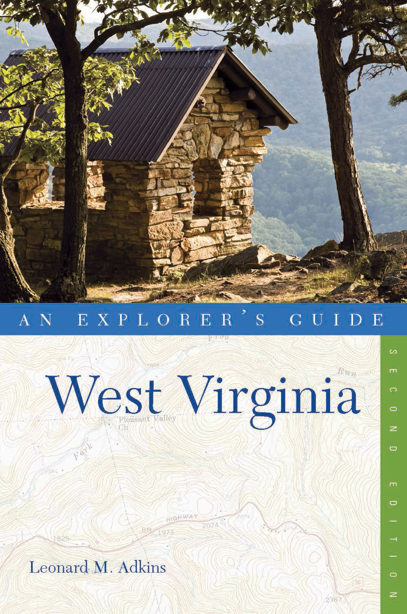 Book cover for Explorer's Guide West Virginia by Leonard M. Adkins