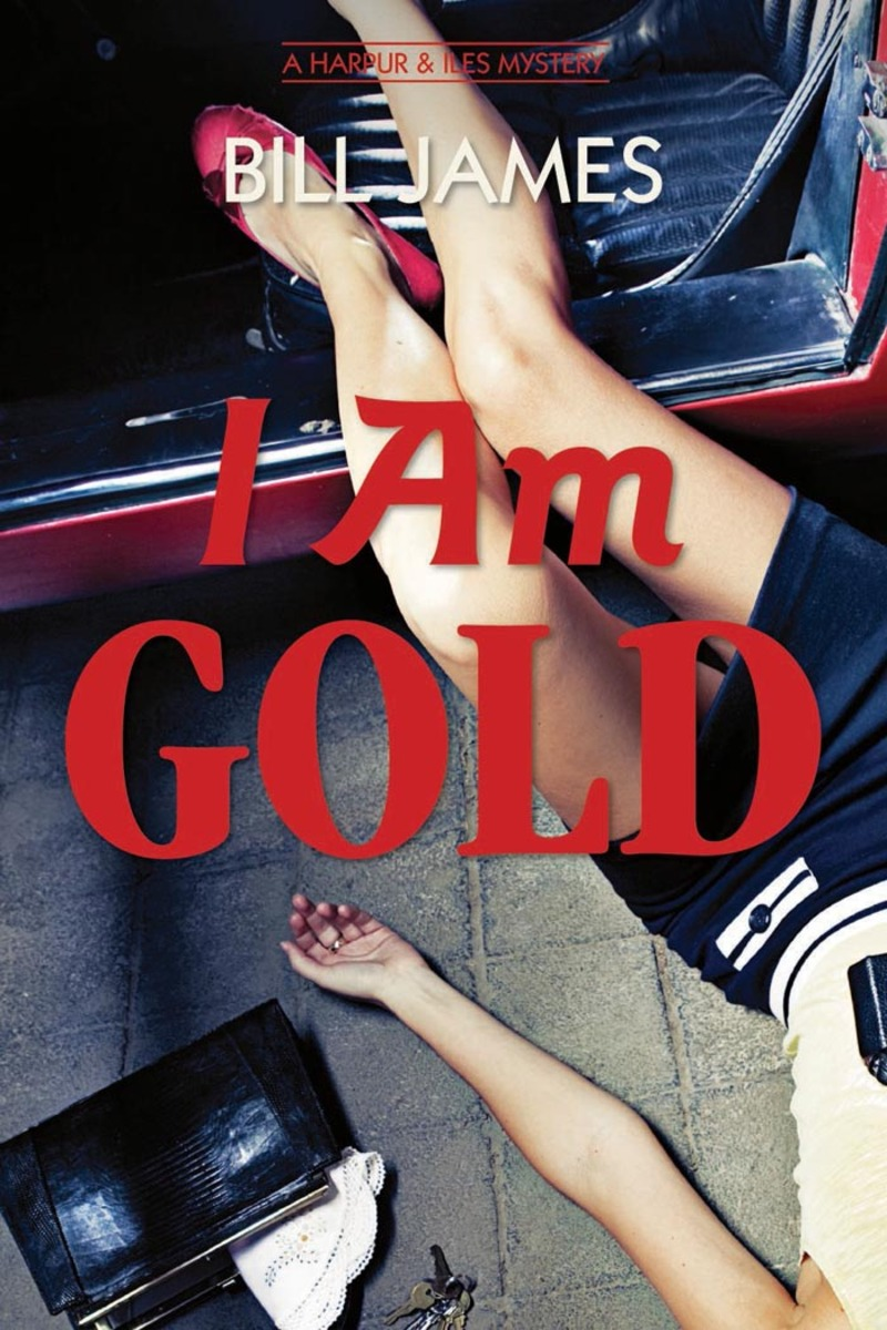 Book cover for I Am Gold by Bill James