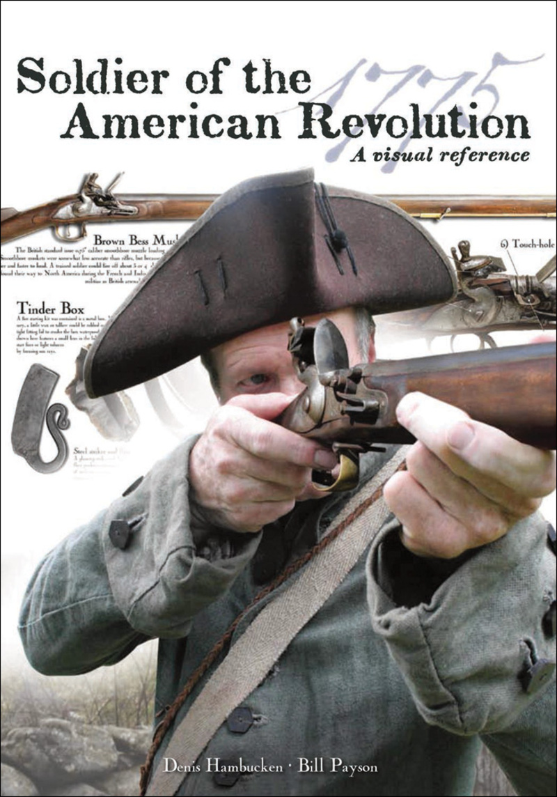 Book cover for Soldier of the American Revolution by Denis Hambucken