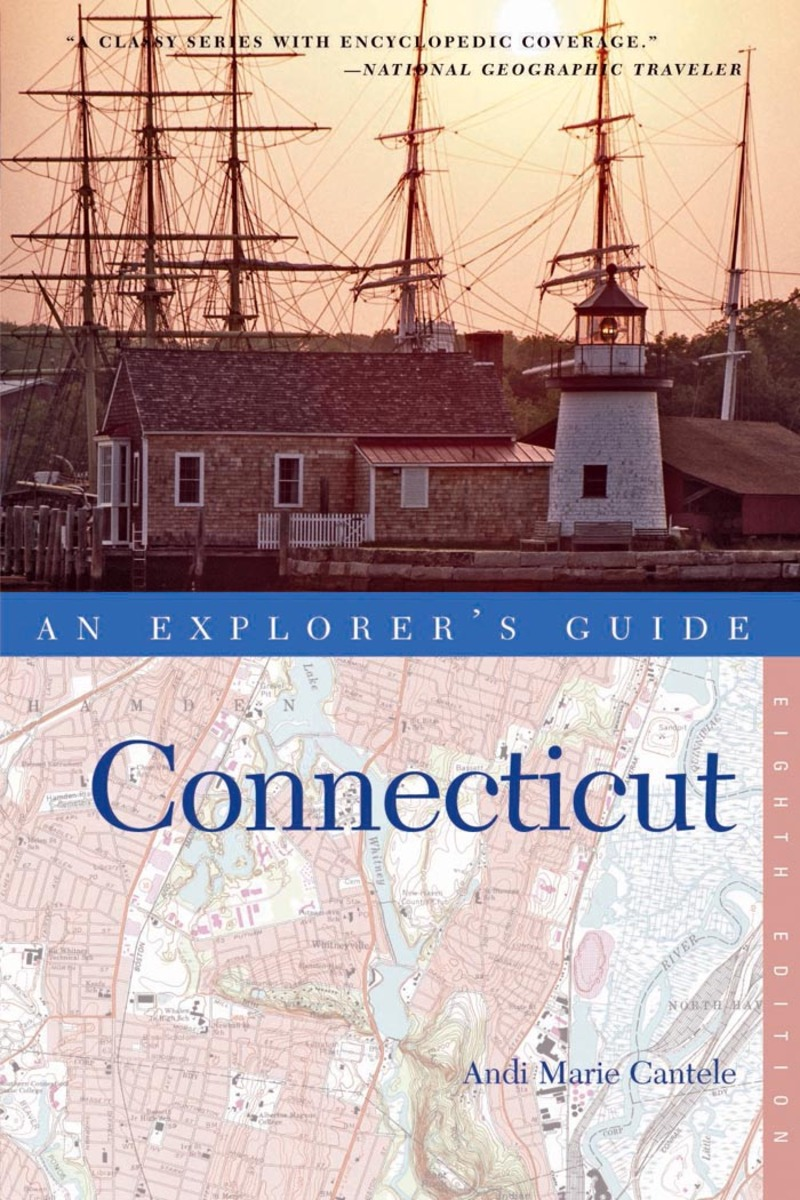 Book cover for Explorer's Guide Connecticut by Andi Marie Cantele