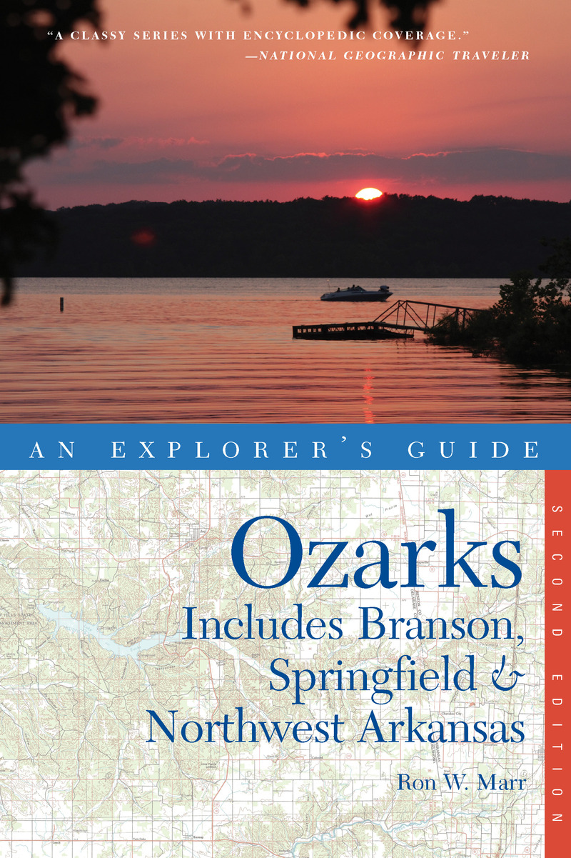 Book cover for Explorer's Guide Ozarks by Ron W. Marr