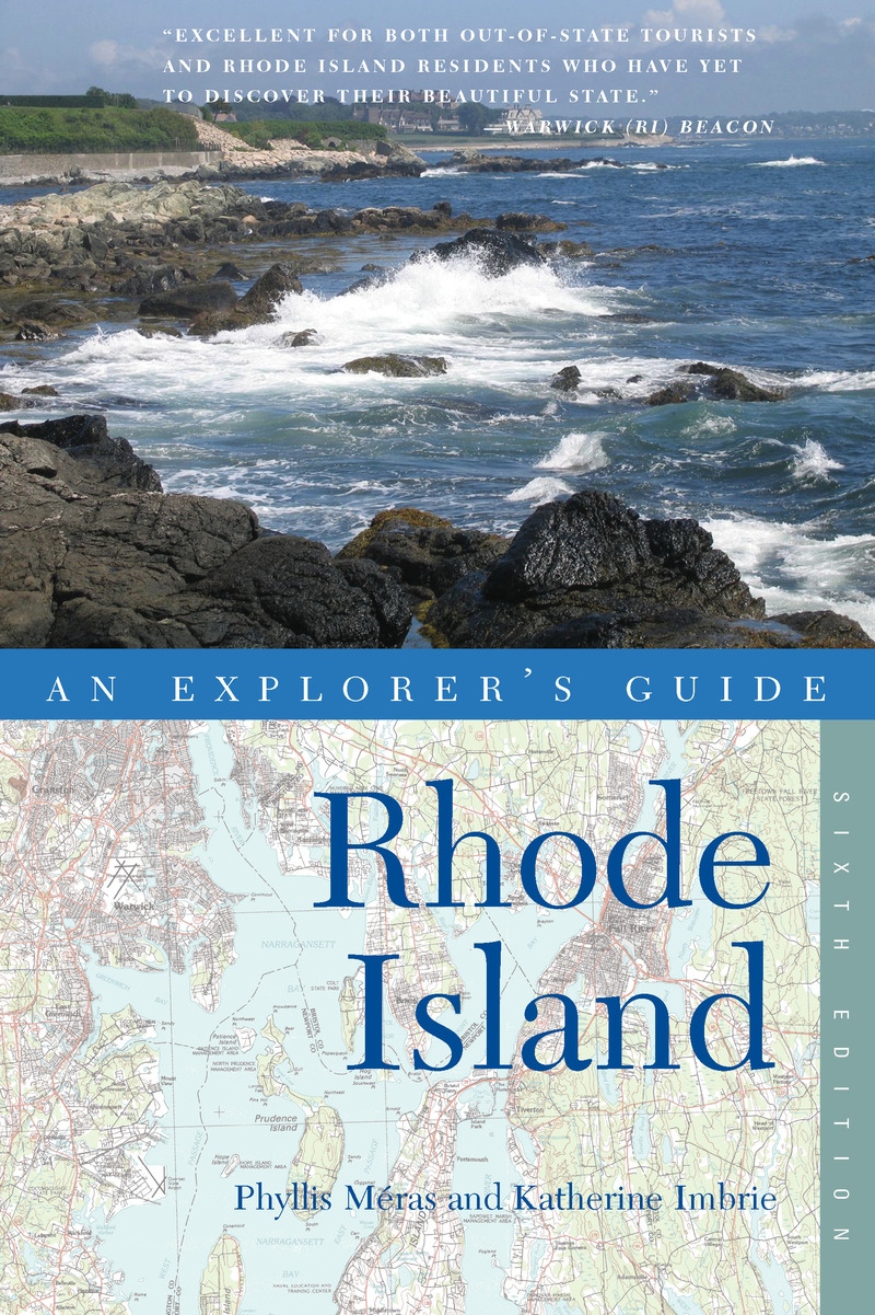 Book cover for Explorer's Guide Rhode Island by Phyllis Méras