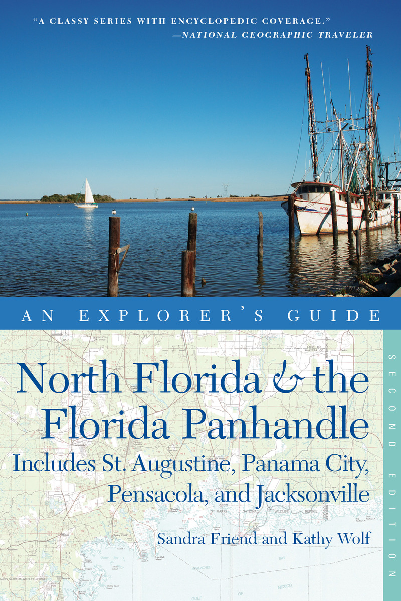 Book cover for Explorer's Guide North Florida & the Florida Panhandle by Sandra Friend