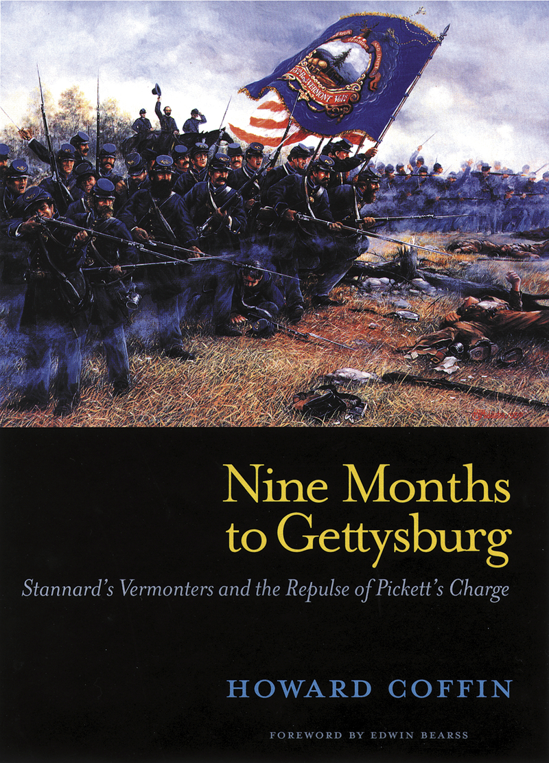 Book cover for Nine Months to Gettysburg by Howard Coffin