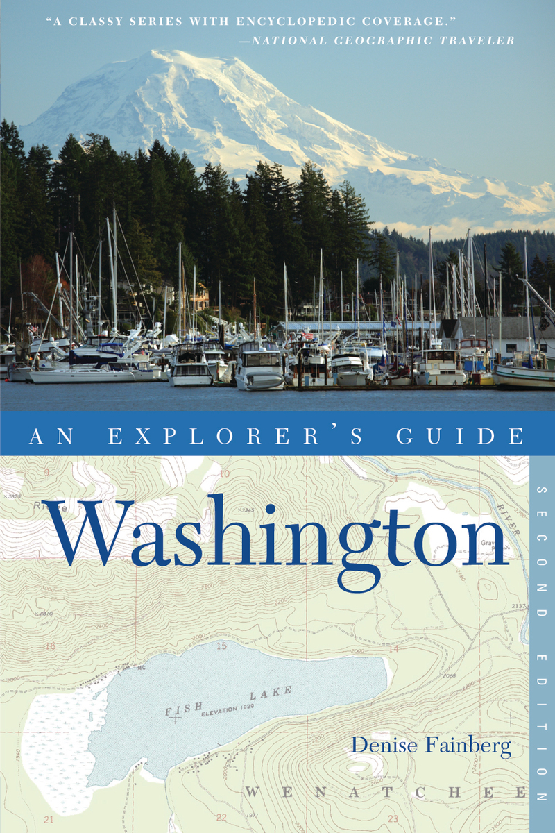 Book cover for Explorer's Guide Washington by Denise Fainberg
