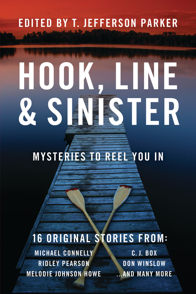Book cover for Hook, Line & Sinister by T. Jefferson Parker