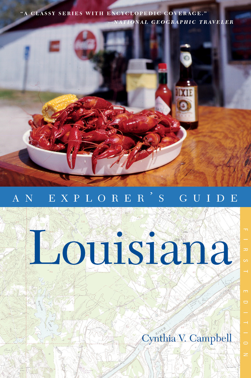 Book cover for Explorer's Guide Louisiana by Cynthia Campbell