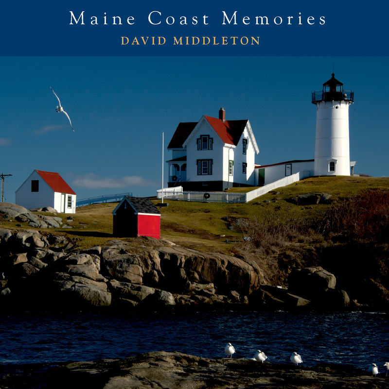 Book cover for Maine Coast Memories by David Middleton