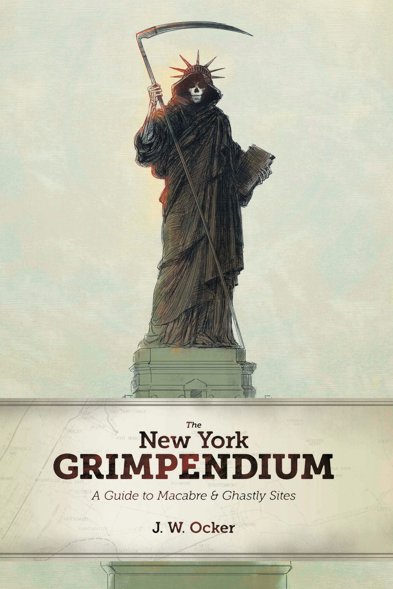 Book cover for The New York Grimpendium by J. W. Ocker
