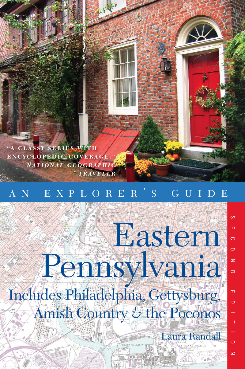 Book cover for Explorer's Guide Eastern Pennsylvania by Laura Randall