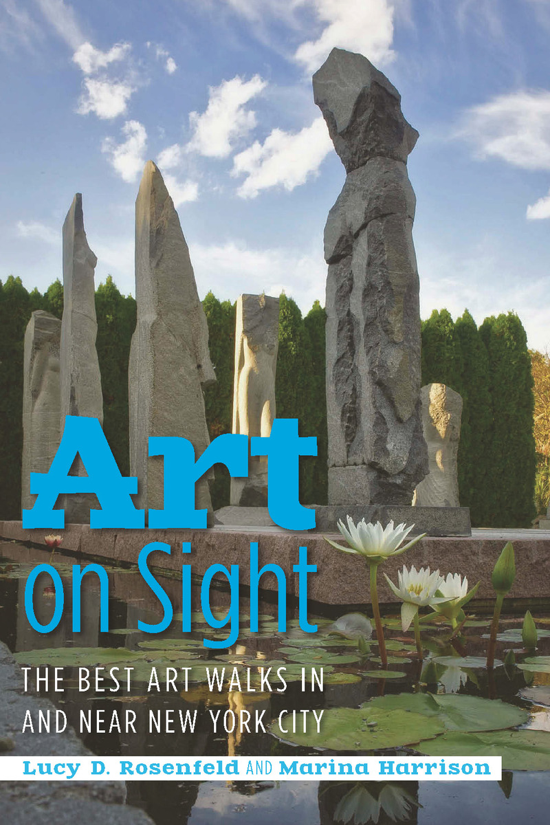 Book cover for Art on Sight by Lucy D. Rosenfeld