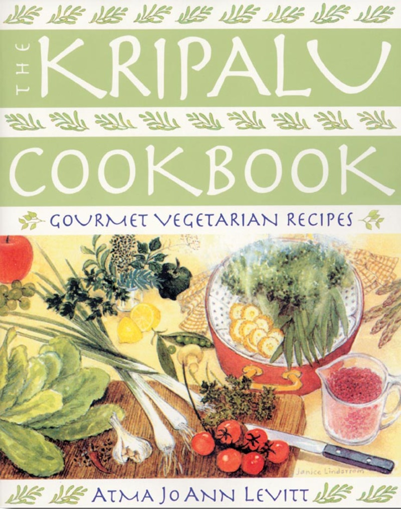 Book cover for The Kripalu Cookbook by Atma Jo Ann Levitt