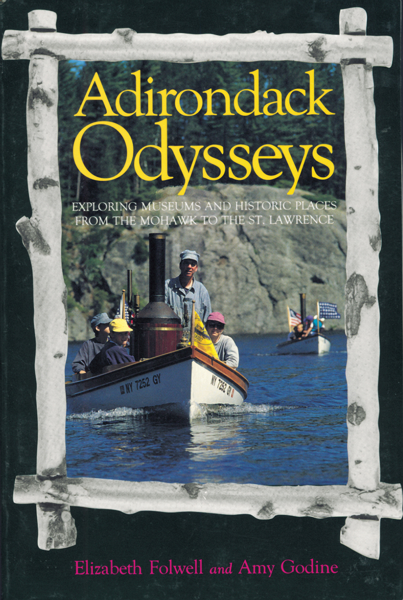 Book cover for Adirondack Odysseys by Elizabeth Folwell