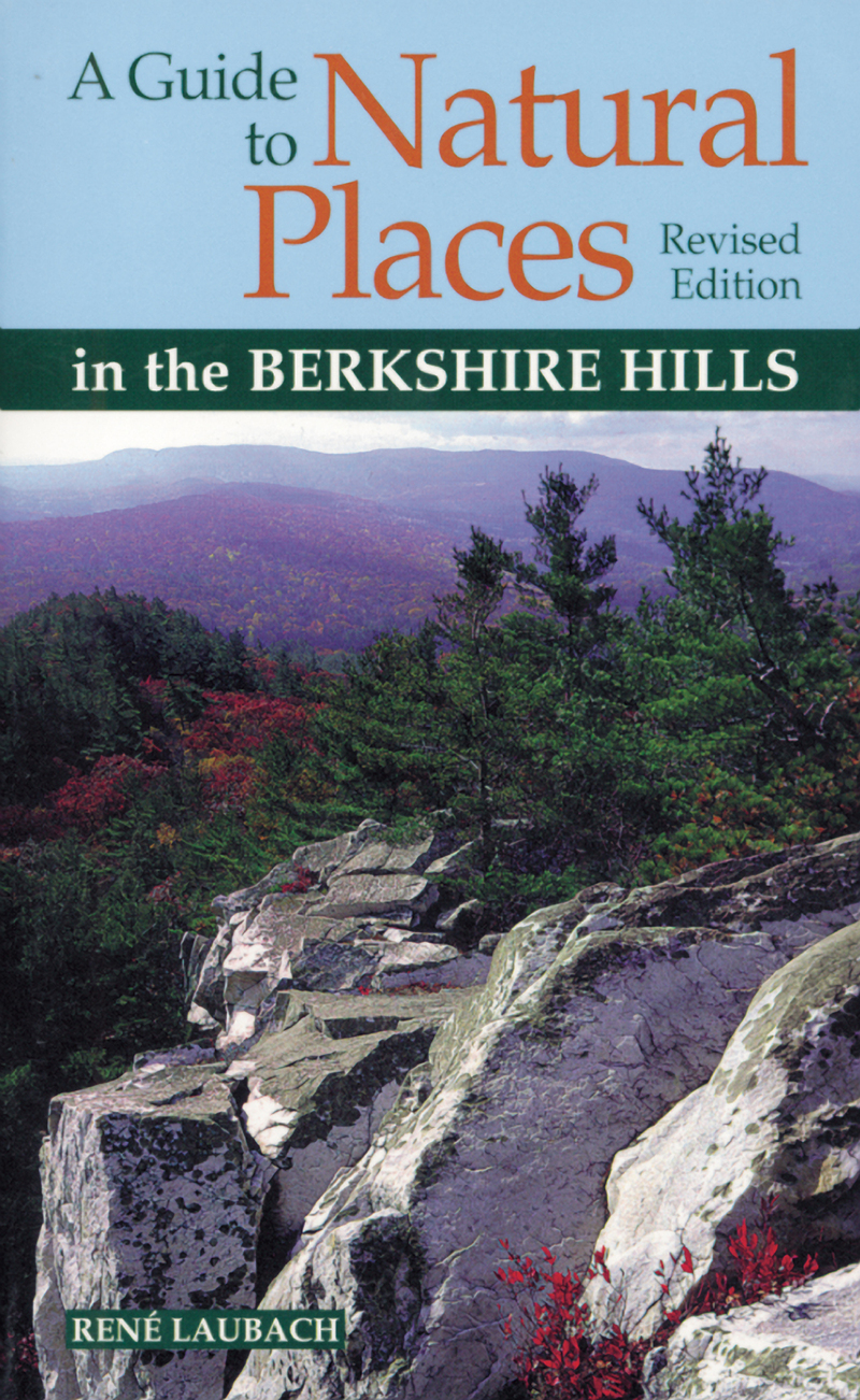 Book cover for A Guide to Natural Places in the Berkshire Hills by Rene Laubach