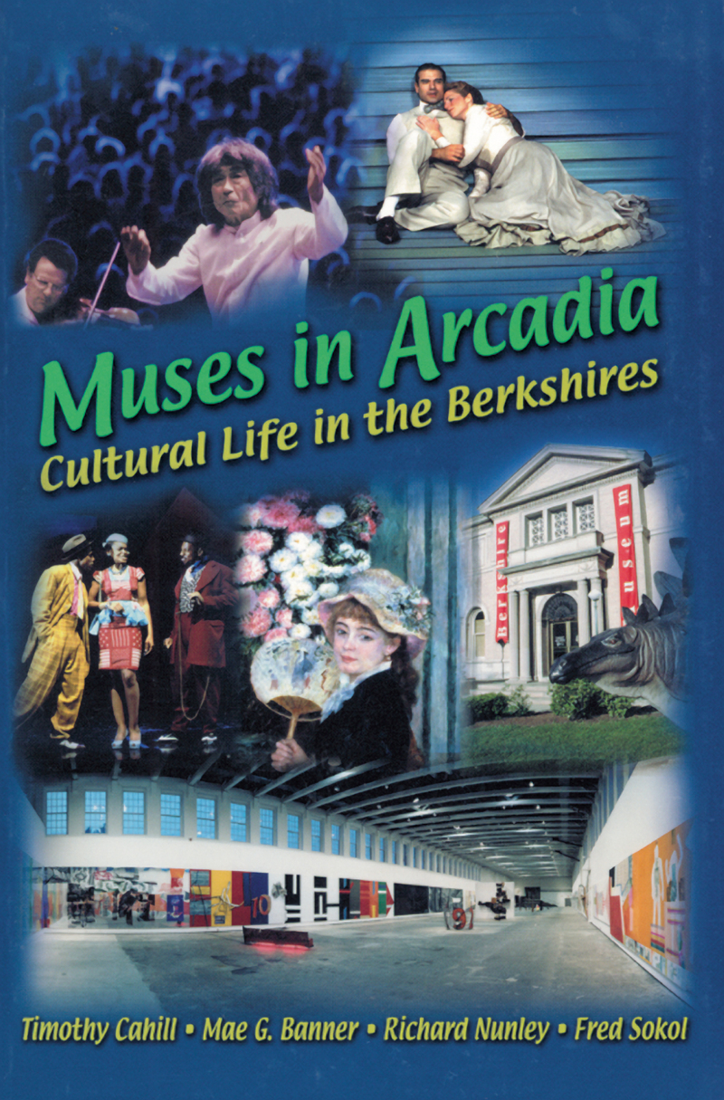 Book cover for Muses in Arcadia by Mae G. Banner