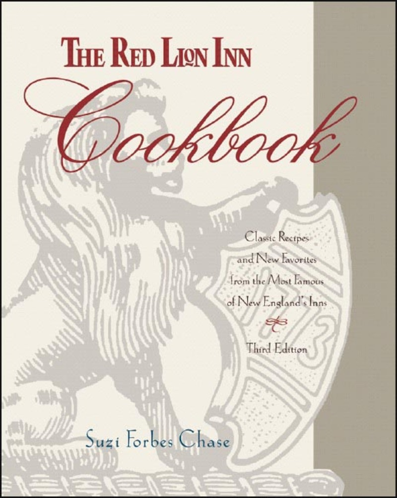 Book cover for The Red Lion Inn Cookbook by Suzi Forbes Chase