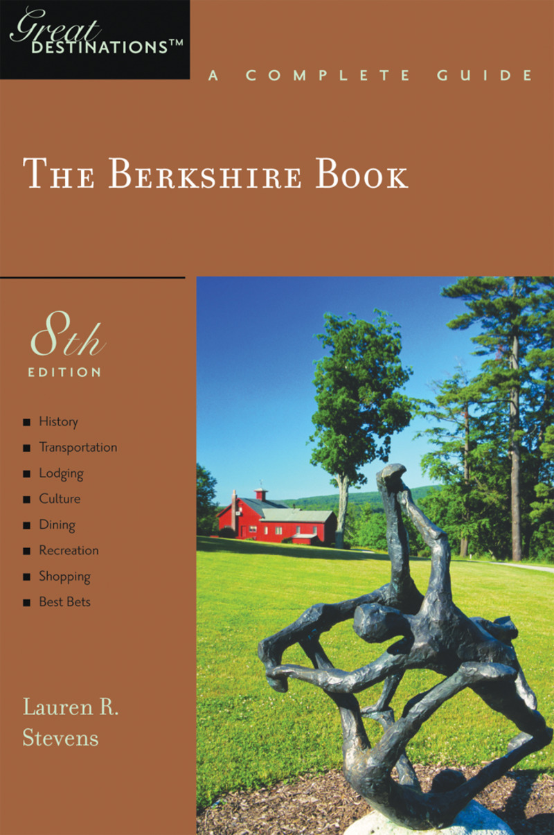 Book cover for Explorer's Guide Berkshire: A Great Destination by Lauren R. Stevens